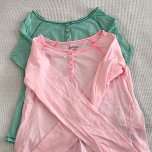 Adorable girls tops!